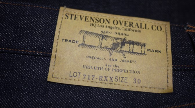 Stevenson Overall Co. Upland – 717 Rigid